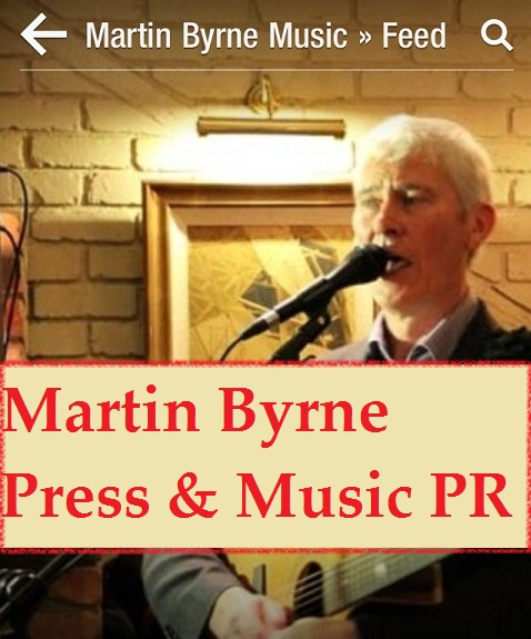 martin byrne music PR