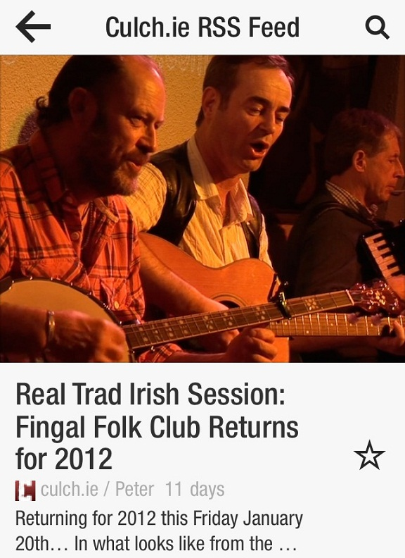 fingal folk club