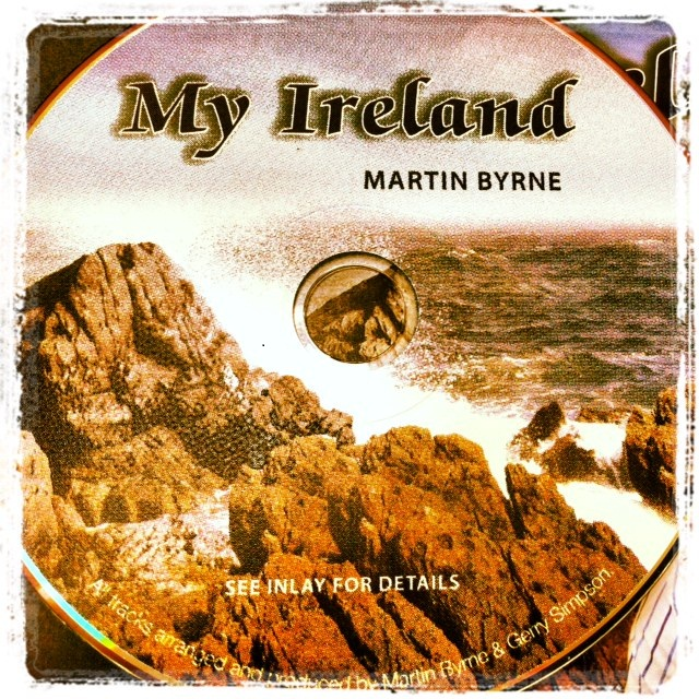 martin byrne my ireland CD