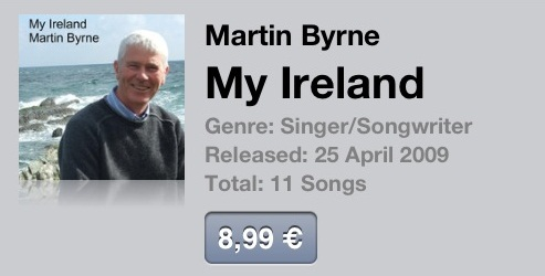 but my ireland itunes