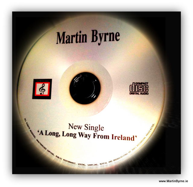 Martin Byrne, a long long way from ireland, promo
