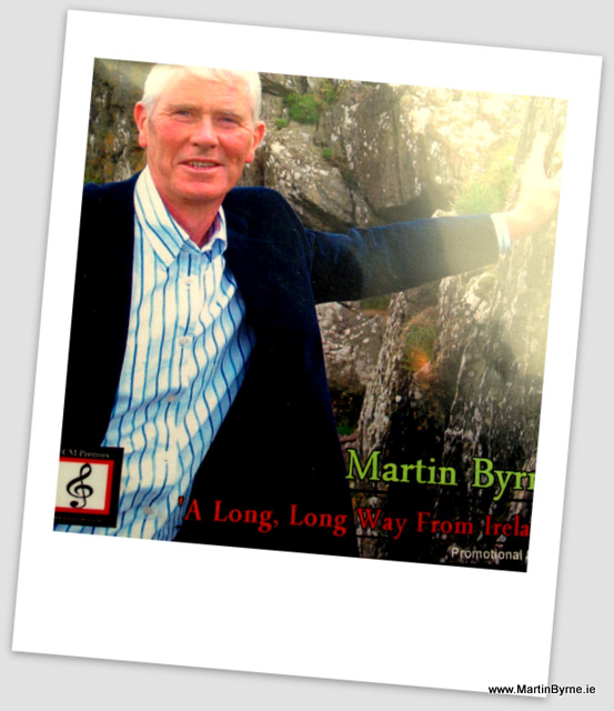 martin byrne, a lon long way from ireland
