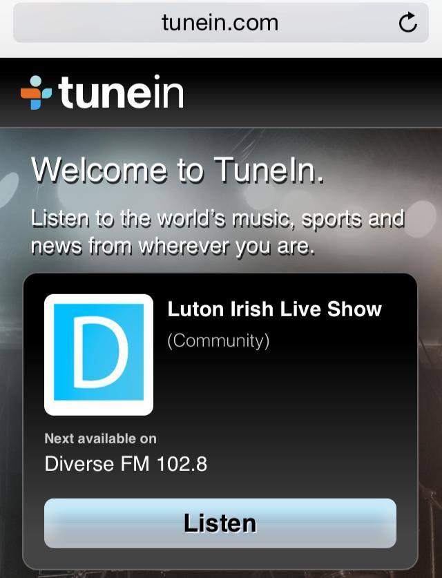 luton live, diverse fm