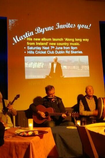 martin byrne, fingal folk club 2014