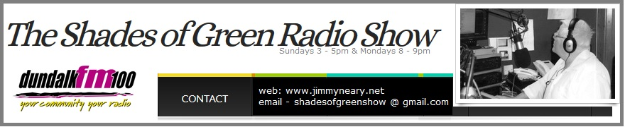 jimmy neary, dundalk fm, shades of green