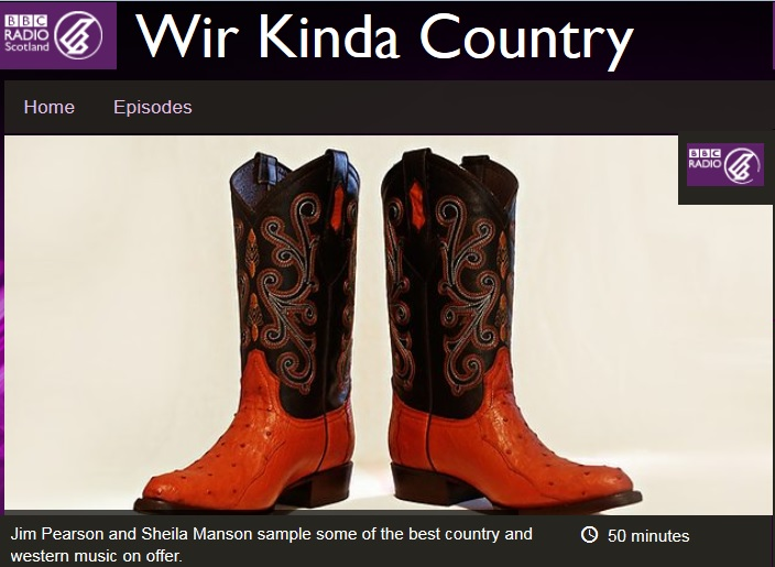 wir kinda country, bbc radio scotland
